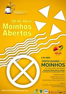 Moinho Abertos 2017- cartaz